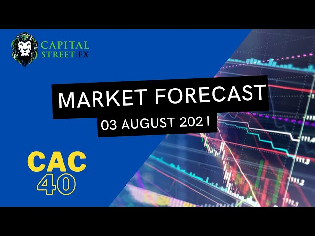 [CAC 40 Index Price] Technical Analysis By Capital Street FX - August 03, 2021