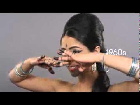 История моды: 100 лет индийской красоты за 2 минуты (100 Years of Beauty   Episode 7  India Trisha)