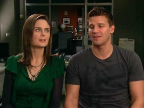 Emily Deschanel and David Boreanaz interview.
