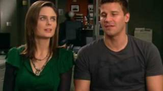 Emily Deschanel and David Boreanaz interview.