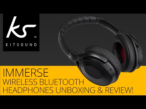 kitsound-immerse-wireless-bluetooth-headphones-unboxing-&-review!
