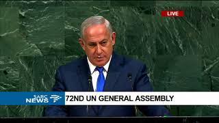 72nd UN General Assembly: Benjamin Netanyahu