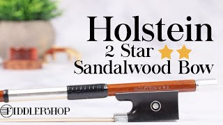 Holstein Sandalwood Two Star Violin Bow