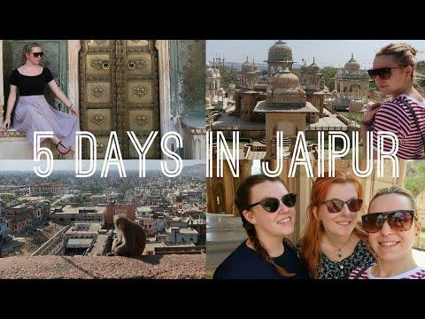 5 DAYS IN JAIPUR. India Travel Vlog #5 | tones of amber