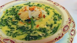 Betty's Parmesan Creamed Spinach
