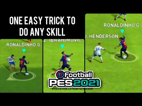 Easy TRICK to Perform Bicycle kick perfectly in PES 2018 Mobile
