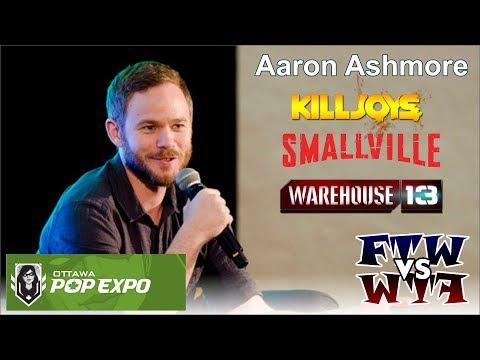 Aaron Ashmore  Ottawa Pop Expo 2015
