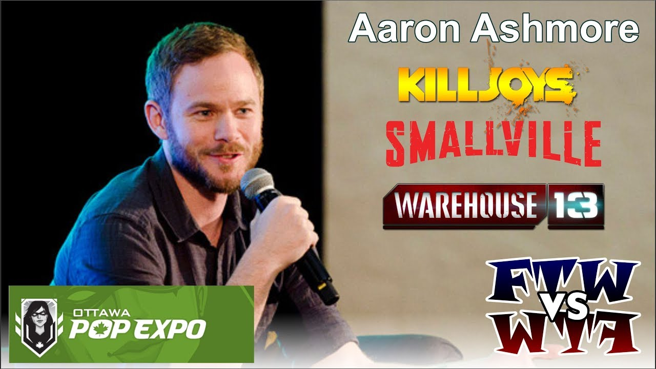 Aaron Ashmore – Ottawa Pop Expo Panel   The Convention Junkies
