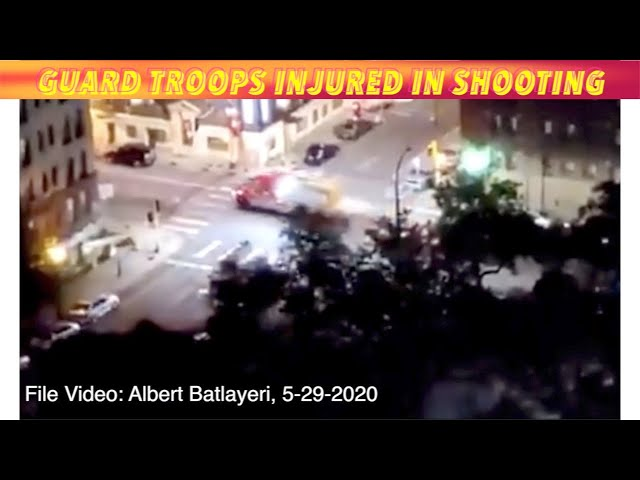 National Guard Troops Injured In Sunday Minneapolis Shooting Incident