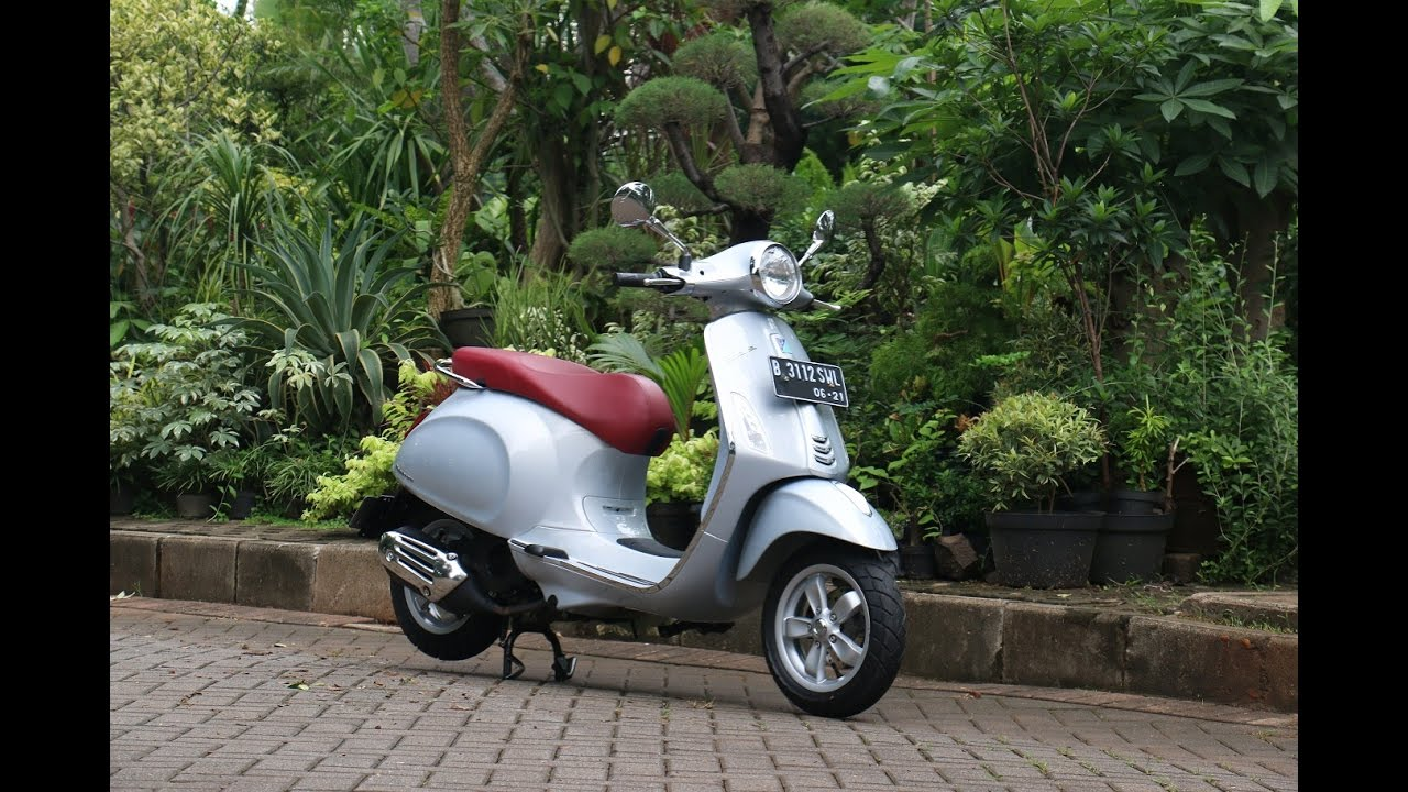 Vespa Primavera I Get Test Ride Oto Com Youtube