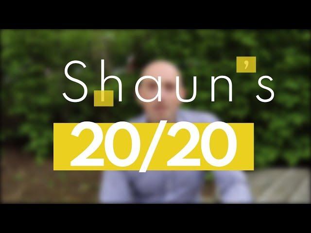 Shaun's 20/20 Challenge - London Marathon Pep Talk