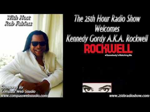 Kennedy Gordy - AKA Rockwell - Platinum Selling Recording Artist - Motown Records