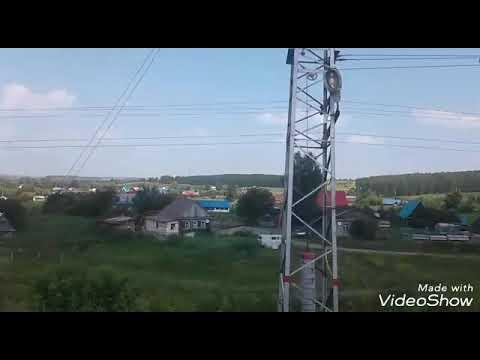 Поезд Анапа - Новокузнецк . Станция Кропачево . 26.07.18.г.