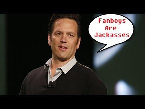 Phil Spencer Thinks Fanboys Are Weirdos. I Agree...