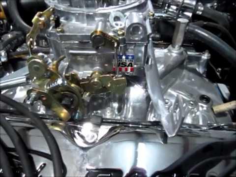 Edelbrock throttle bracket  YouTube