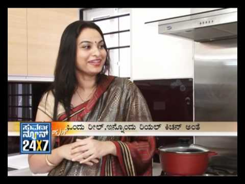 Seg_3 - Aaha Aduge Mane: Kitchen Interior Design Ideas - 25 March - Suvarna News Travel Video