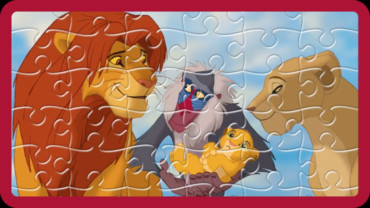 Disney Jigsaw Puzzles The Lion King Daddy Finger Family