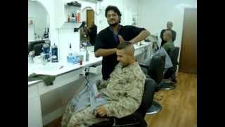 Massage in ARRamadi Iraq Barber Shop