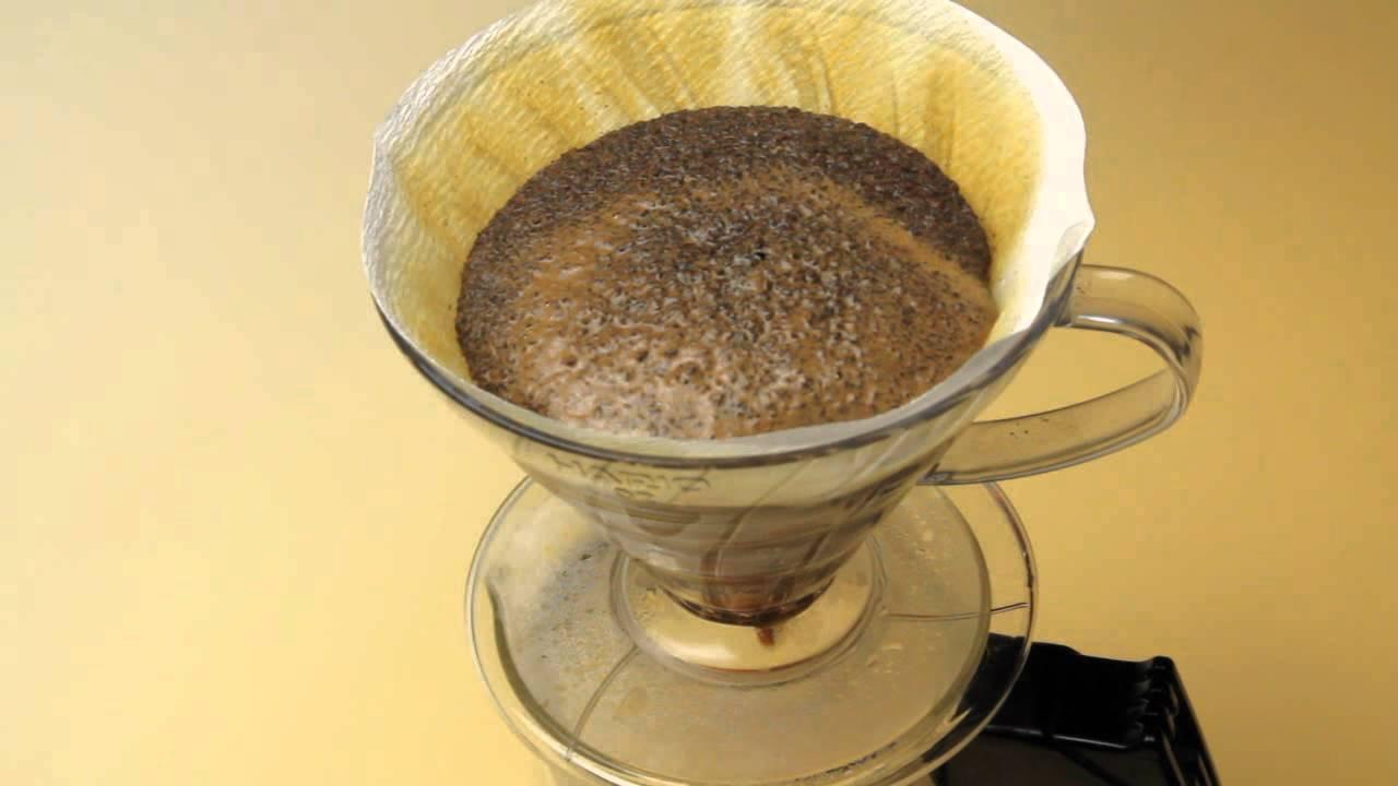 方 ドリップ コーヒー 入れ