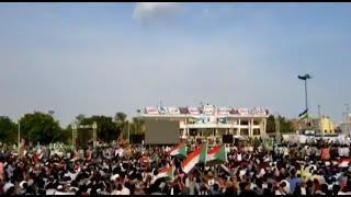 بكاء الشعب السوداني مع اغنيه احمد امين