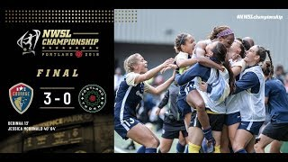 Highlights: North Carolina Courage vs. Portland Thorns FC | September 22, 2018