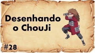How to draw Chouji / Desenhando o Chouji Akimichi ( Naruto )