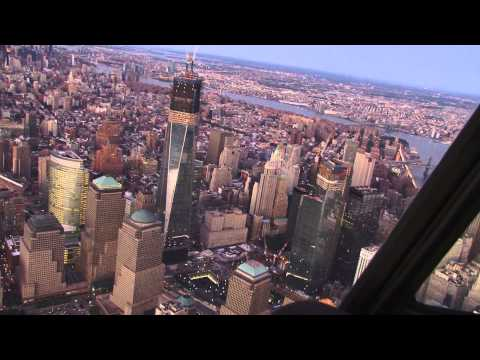 New York Helicopter Tour / Полет на вертолете над Нью-Йорком