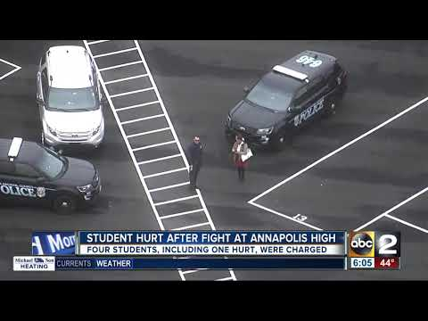 Students charged in Annapolis High School fight