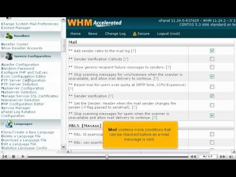 How to configure your outgoing mail server in WHM (SMTP) - WHM Service Tutorials