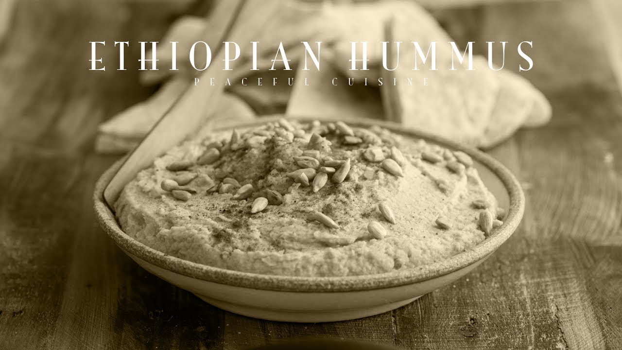 [No Music] How to make Ethiopian Hummus