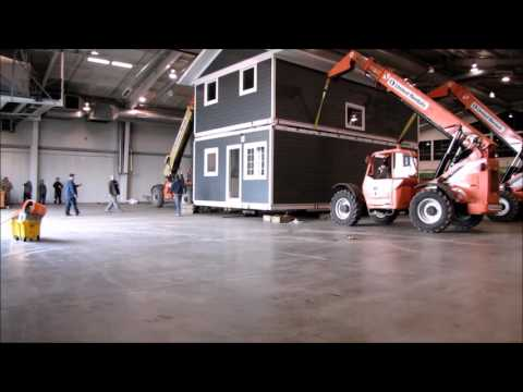 SMART Housing - Timelapse Of A Two-storey SMART Affordable Home