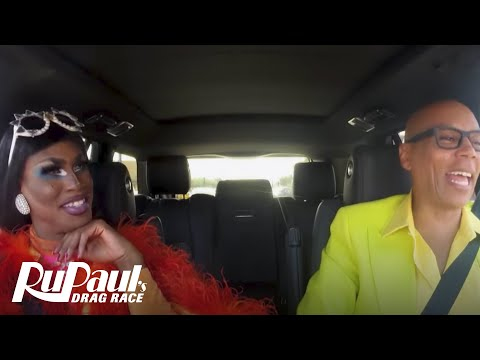 Drag Queen Carpool: Shea Couleé | RuPaul's Drag Race Season 9 | Now on VH1!