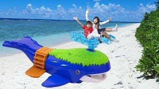 タカラトミーのアニア【クジラアイランド】と【マウンテンアイランド】...
