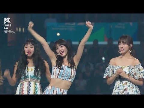 180812 KCON 2018 LA TWICE(트와이스) Cut