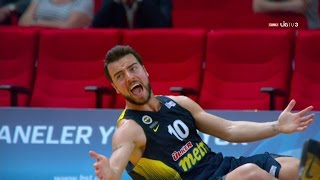 Melih Mahmutoğlu 16pts Full Highlights vs Galatasaray Semi-Final G4 (31.05.16) 4 Threes!