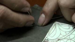 Indonesien Handarbeit Filigran-Schmuck Herstellung Filigree jewelry manufacture