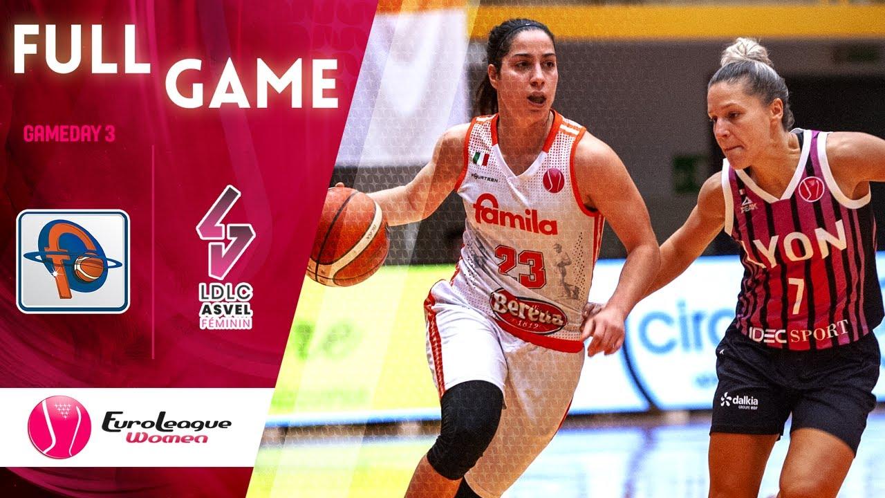 Famila Schio v LDLC ASVEL Feminin - Full Game - EuroLeague Women 2019