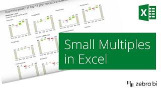 خلق الصغيرة مضاعفات في Excel مع حمار وحشي BI