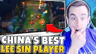 I HAVE FOUND CHINA'S BEST LEE SIN PLAYER (DISGUSTING PLAYS) - League of Legends