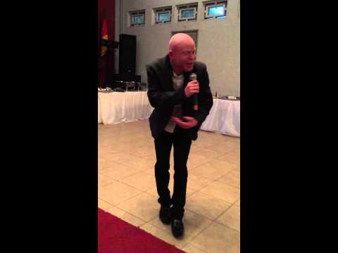 John Chiti-Zambia performing at the Gala Dinner of Douala Conference on Albinism (song 1)