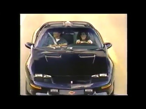 Fourth Generation Fbody (Camaro / Firebird / Trans Am) Commercial Compilation