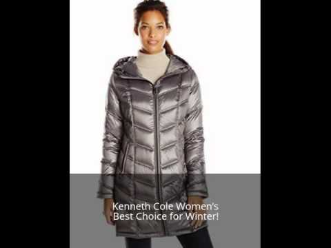 Kenneth Cole Women's Packable Down Winter Woman Jackets
