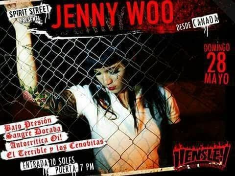 Jenny Woo - I refuse to be a victim (Lima - Perú)