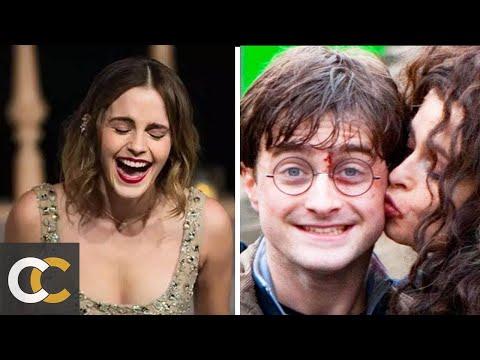 10 уморительных моментов со съемок Гарри Поттера