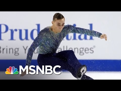 Olympic Athlete Adam Rippon Shines Light On Mike Pence's Anti-LGBT Record | AM Joy | MSNBC