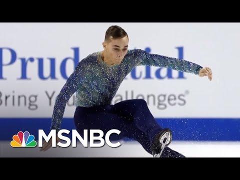 Olympic Athlete Adam Rippon Shines Light On Mike Pence's Anti-LGBT Record | AM Joy | MSNBC