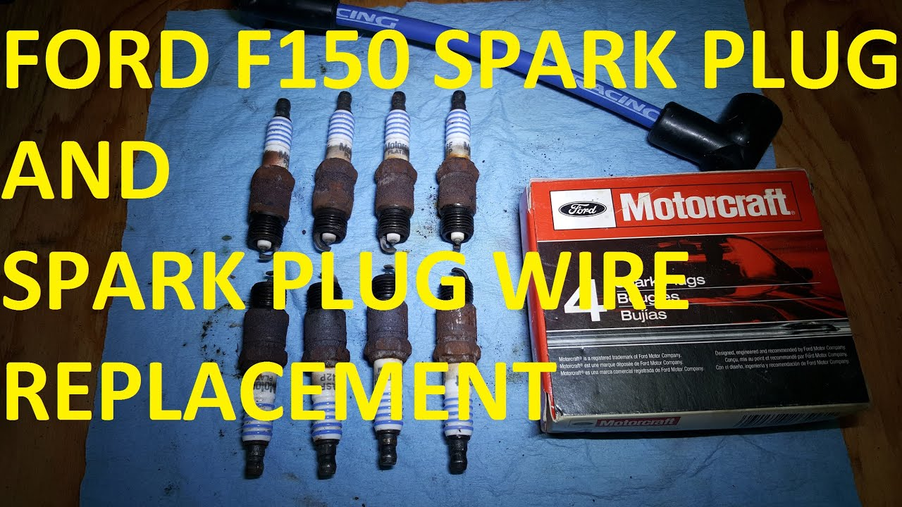 how to change spark plugs and spark plug wires 94 f150 [ 1280 x 720 Pixel ]