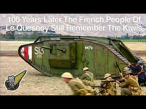WW1:  Kiwi Liberation of Les Quesnoy Part 2 (reenactment)