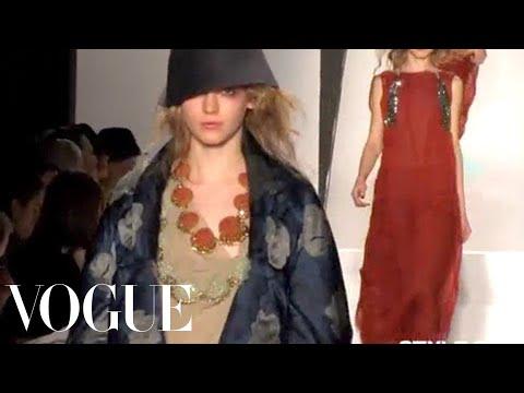 Fashion Show - Vera Wang: Fall 2008 Ready-to-Wear