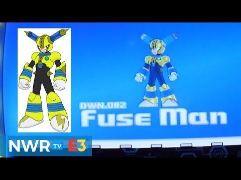 Mega Man 11 Gameplay - Fuse Man Stage (PS4)